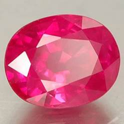Description: ruby gemstone